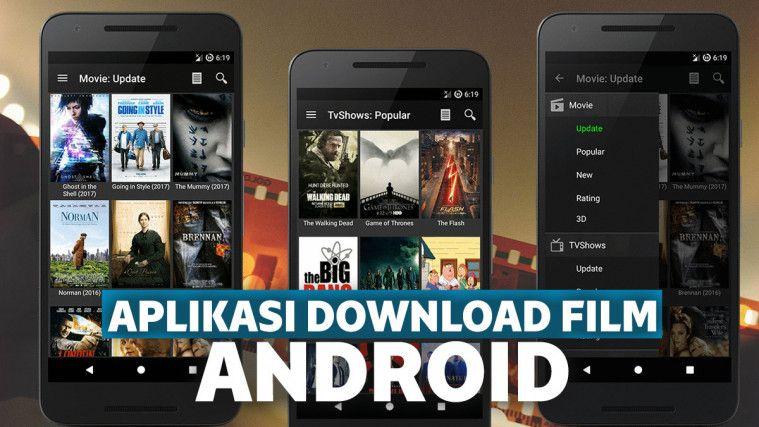 13+ Aplikasi Download Film Gratis Terbaru di Indonesia saat ini