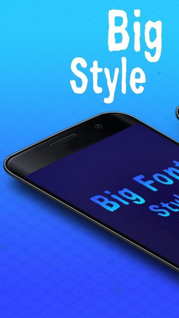 Big Font Style
