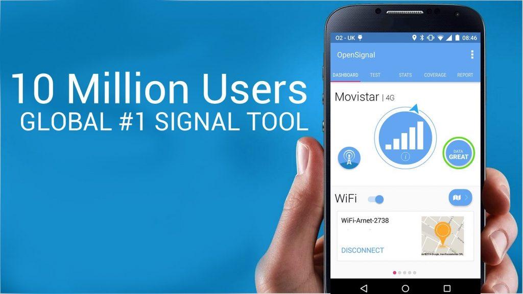 "Aplikasi Penguat Sinyal ""OpenSignal"""