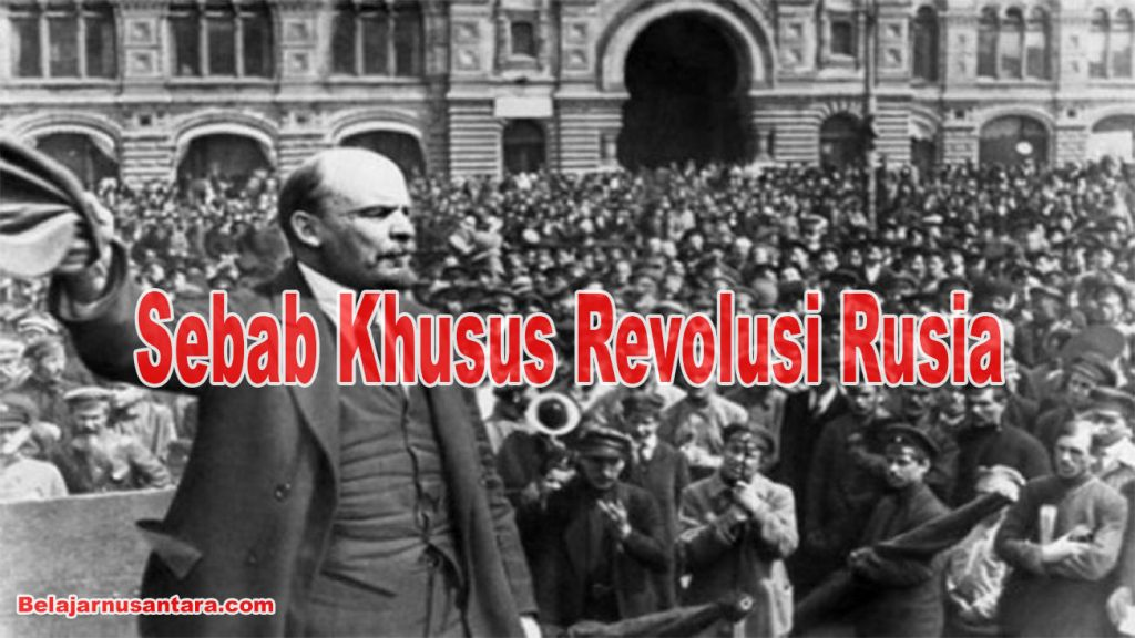 Sebab Khusus Revolusi Rusia