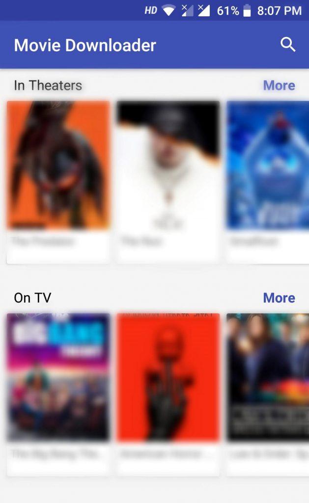 Movie Downloader