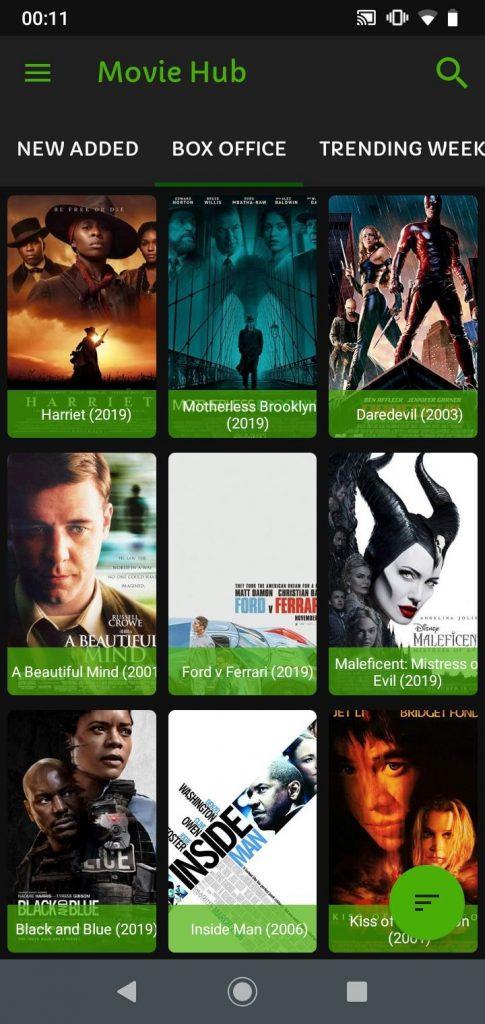 "Aplikasi Download Film ""Movies Hub"""
