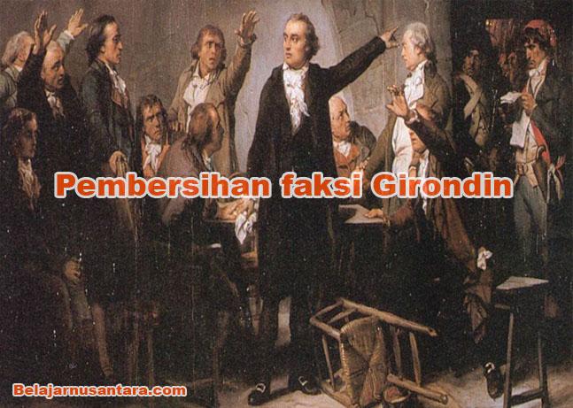 Pembersihan faksi Girondin