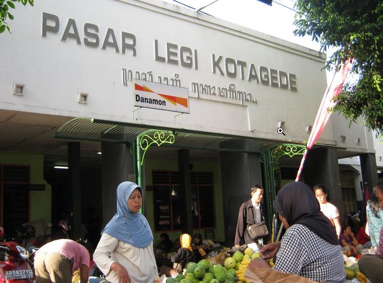 Pasar Kotagede Kompleks
